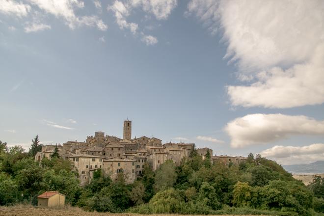San Casciano dei Bagni; één van de mooiste dorpjes van Italië