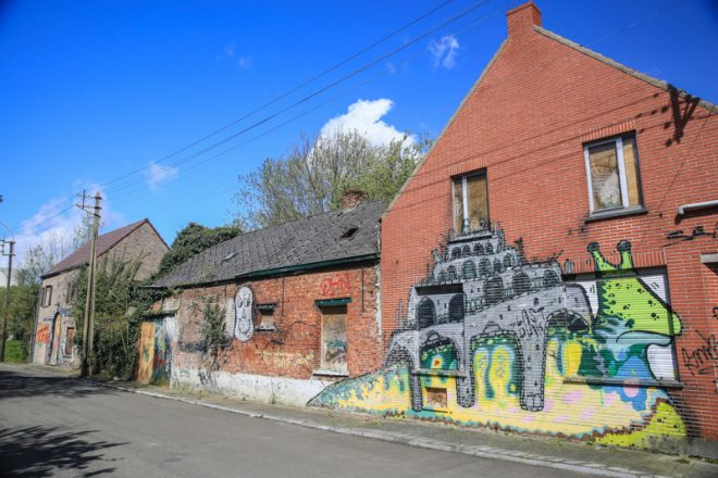 Waar Ligt Huizen : Doel in belgië